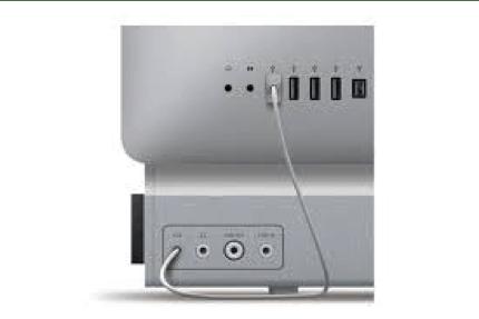 trasera altavoz para iMac