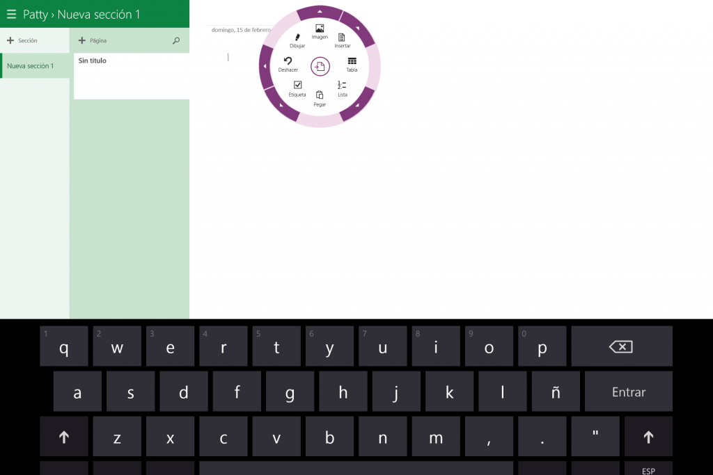 OneNote en Windows