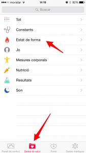 app health datos mesurables