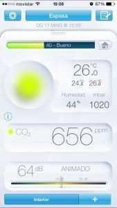 App estación meteorológica