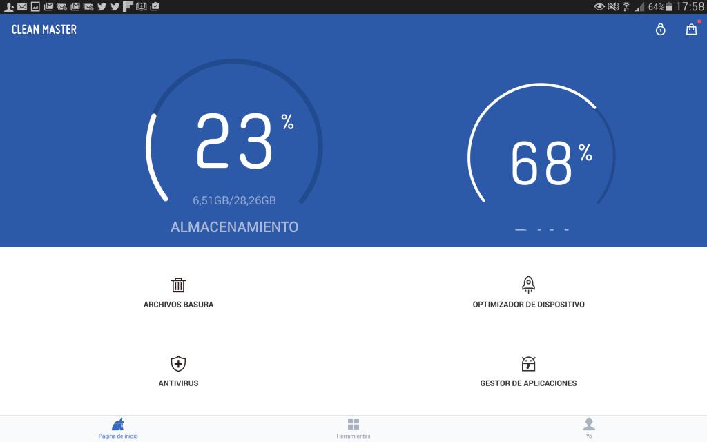 clean Master para android_optimizacion