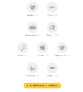 duolingo idiomas_actividades