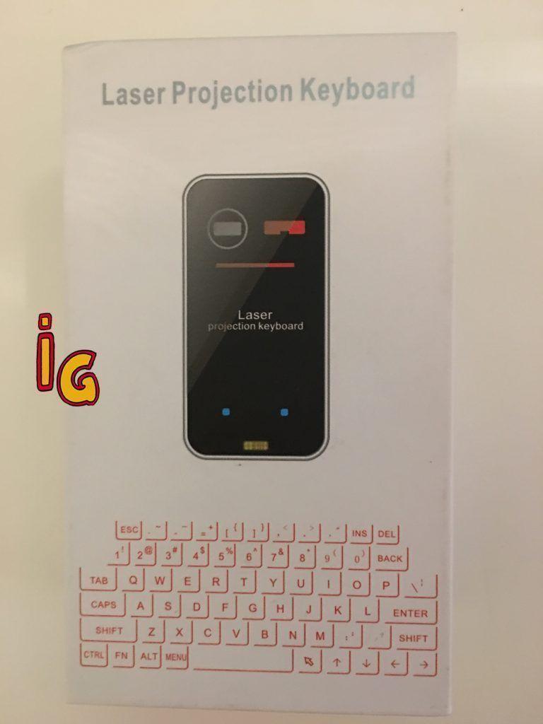 un teclado venido del futuro