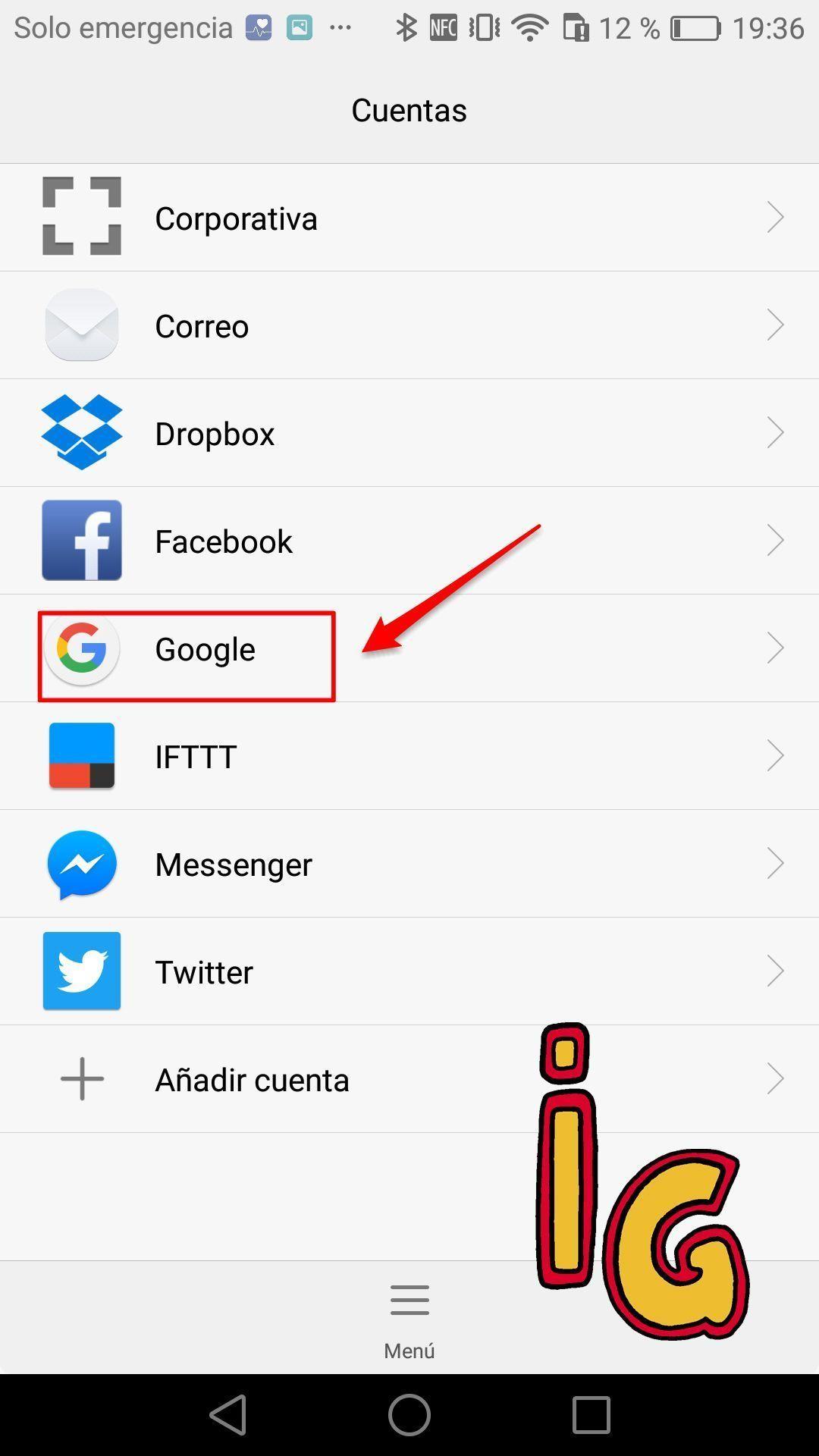 sincronizar tus contactos con Google _ google