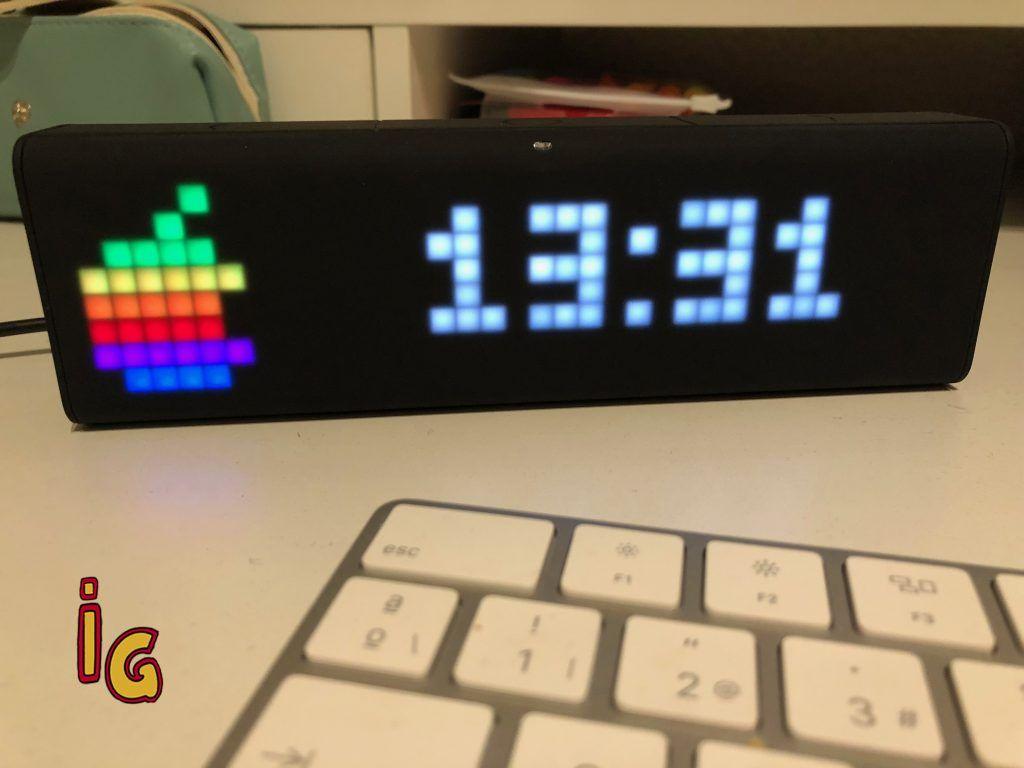 Lametric Time, un reloj inteligente de sobremesa que te sorprenderá