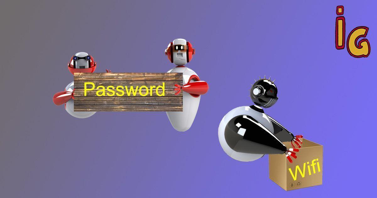 Contraseñas de red wifi en android