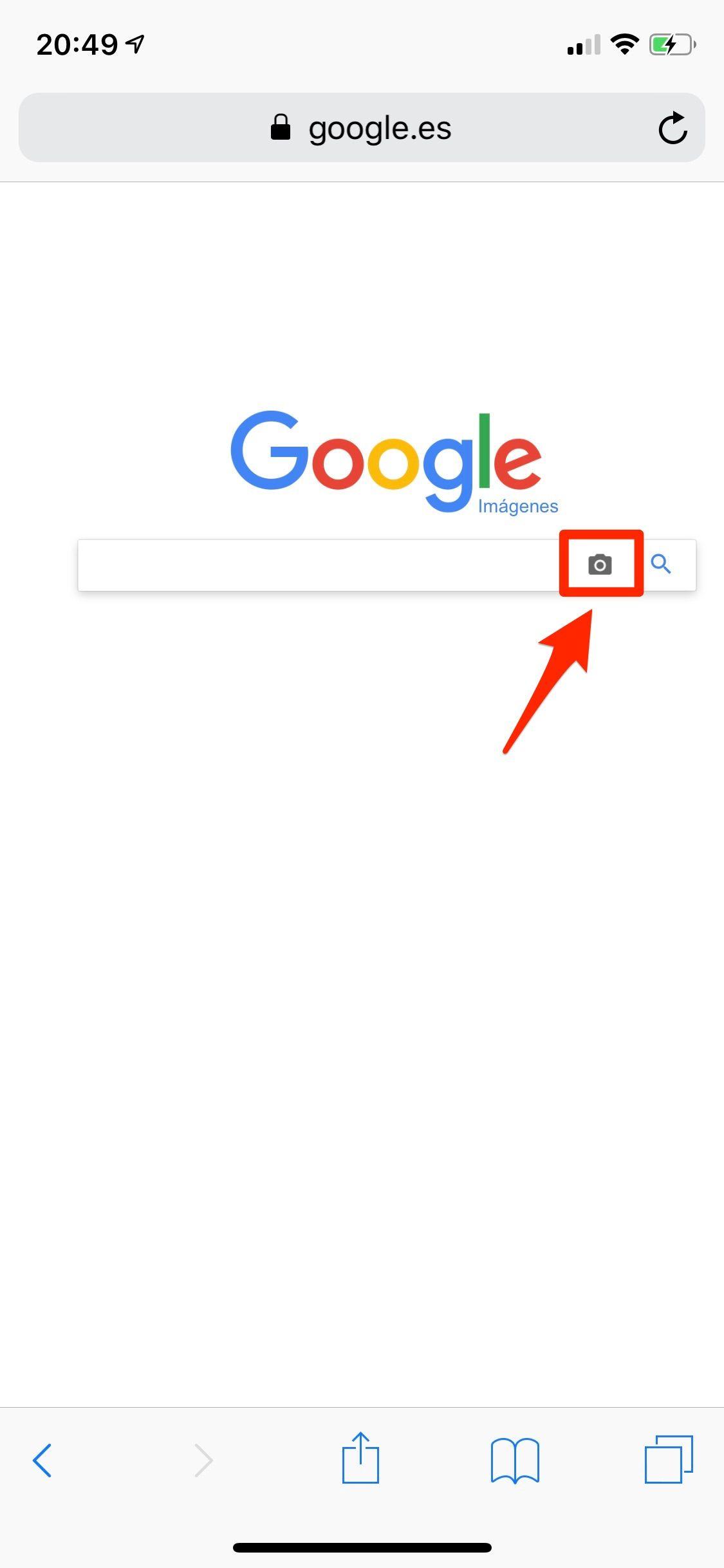 búsqueda por imágenes