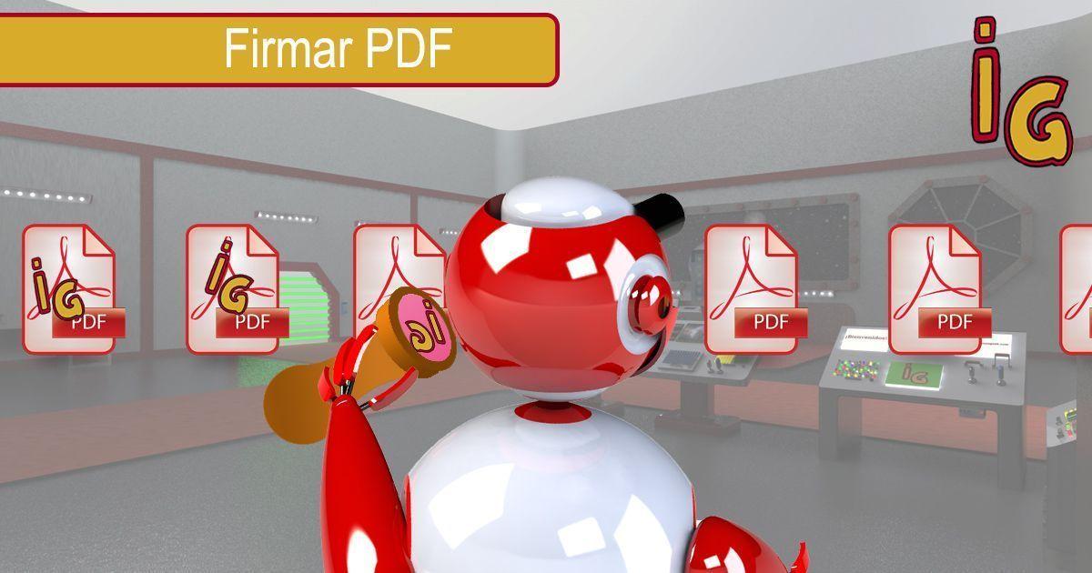 Firmar un PDF con Vista Previa