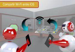 compartir la contraseña Wi-Fi en iOS