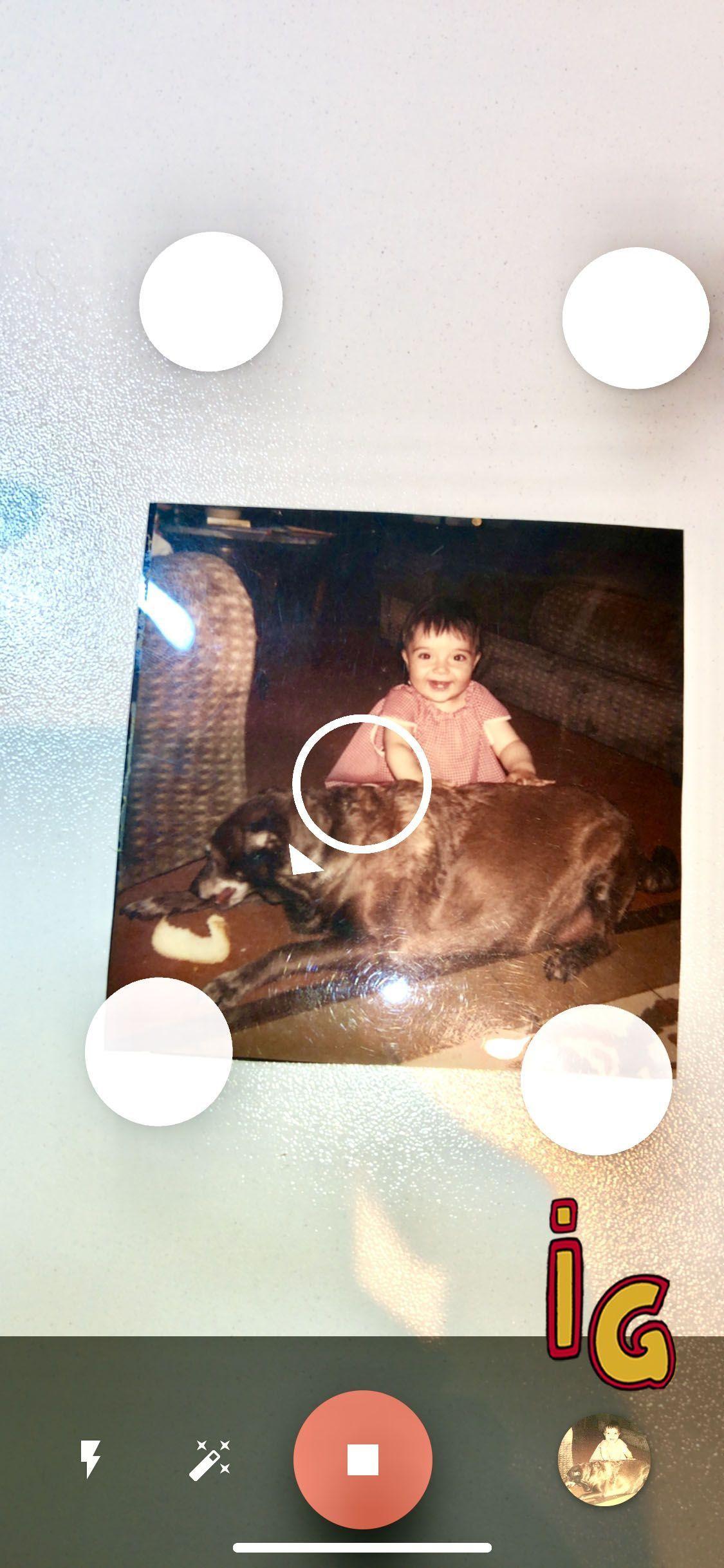 escanerar fotos antiguas con FotoScan los 4 puntos