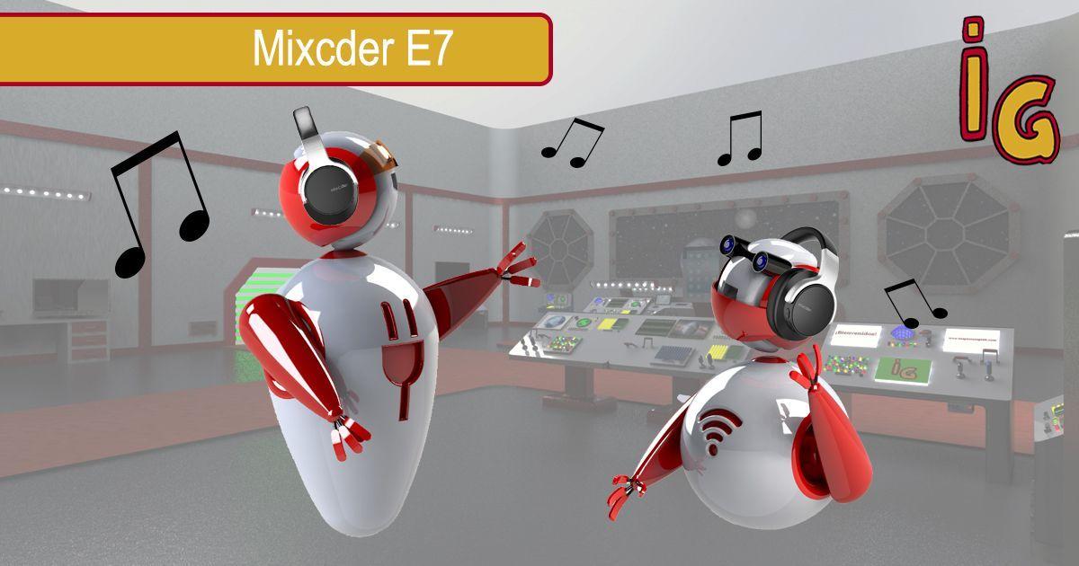 auriculares over ear Mixcder E7