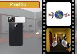 PanoClip accesorio para el iPhone para hacer fotos 360º