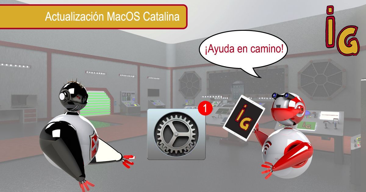 Actualizacion MacOS Catalina