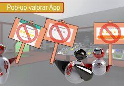 Elimina las molestas notificaciones de valorar la App