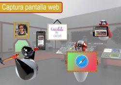Captura completa de una pagina web