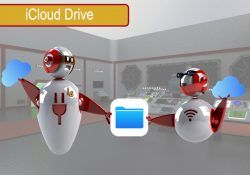 Compartir carpetas en iCloud Drive