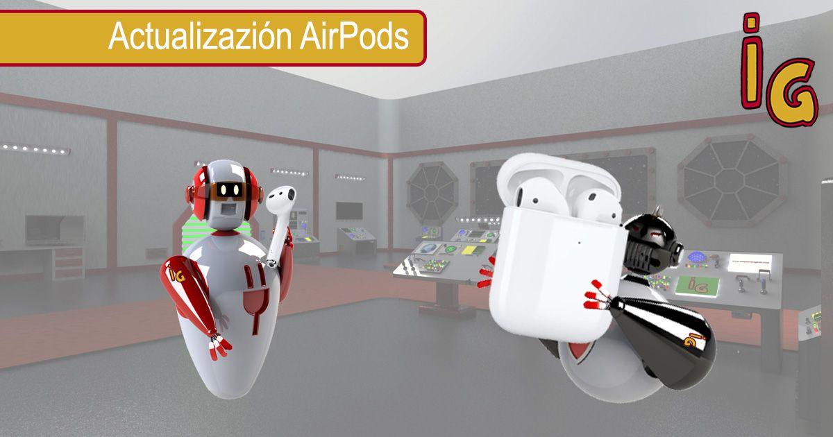 Actualizar tus AirPods