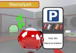 encontrar aparcamiento con wesmartpark
