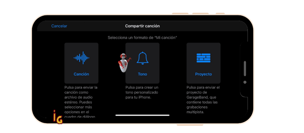 Crear Tono de llamada con GarageBand en el iPhone