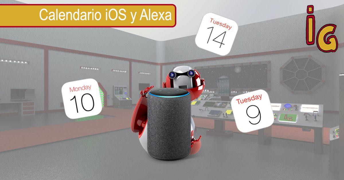 Tus calendarios en Alexa