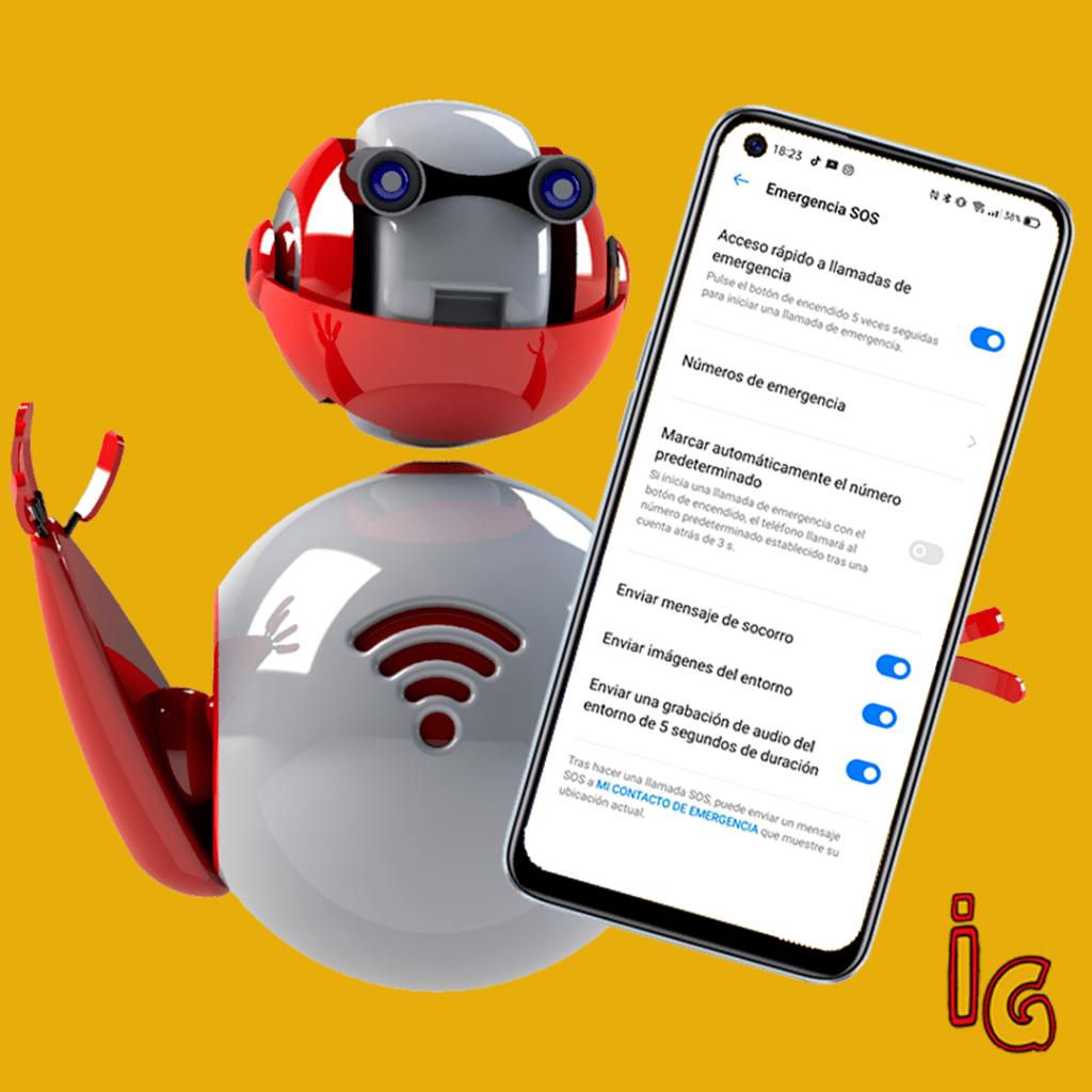 Mensajes de emergencia _ Android
