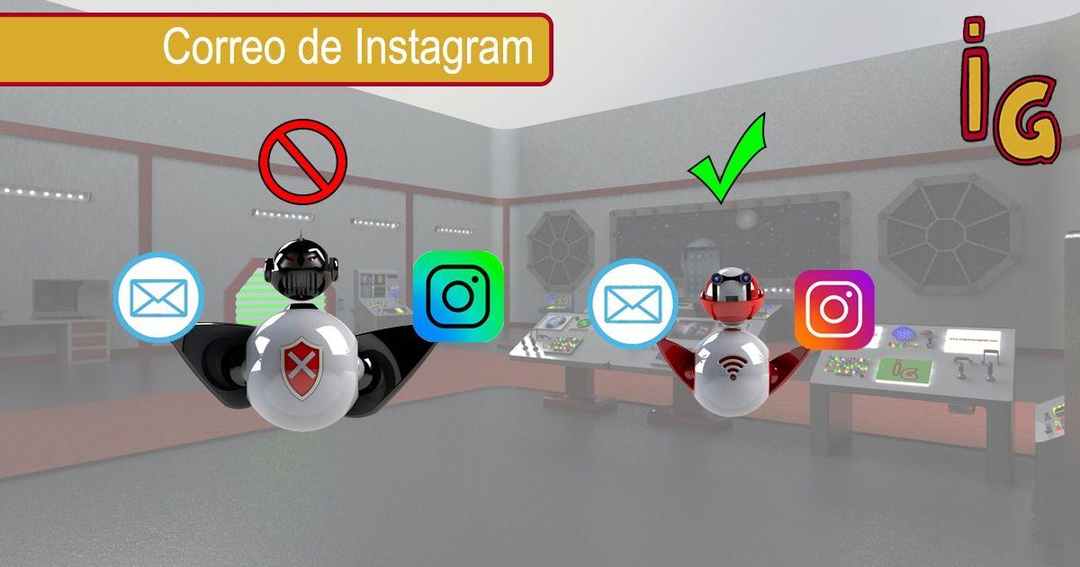 Correo de instagram