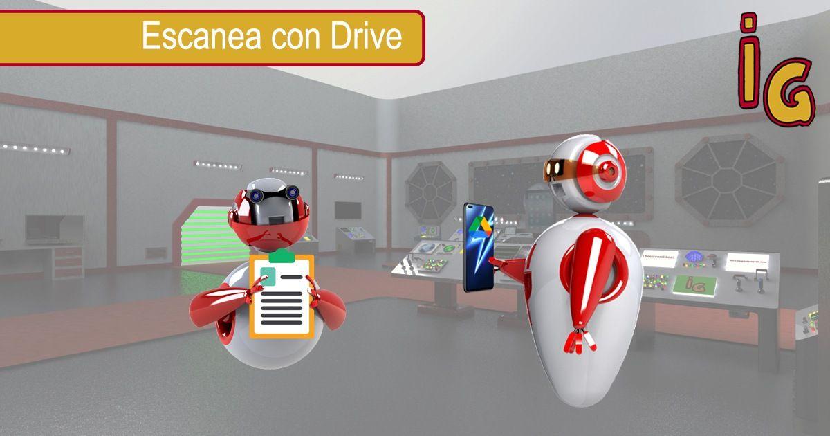 Escanear documentos con Google Drive