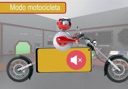 Modo motocicleta móvil Realme