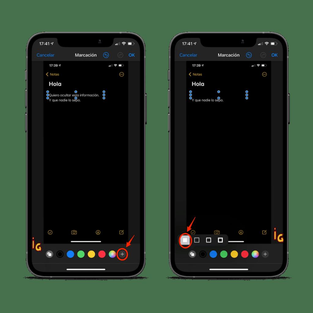 captura de pantalla paso 5 y 6