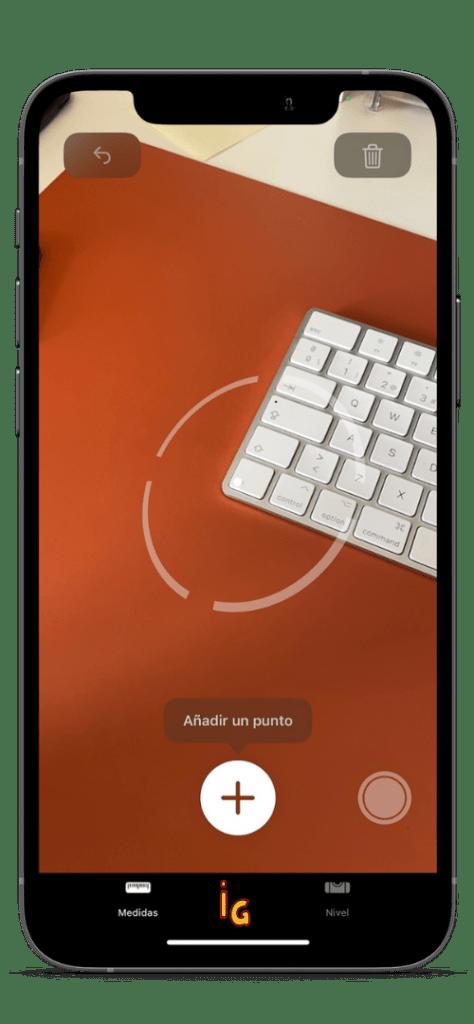 medir distancias con iPhone