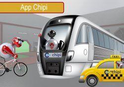 Rutas en transporte público y más con Chipi