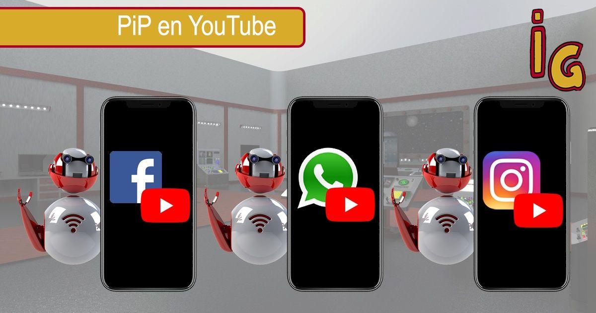 YouTube en PIP