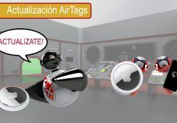 actualizar los AirTags